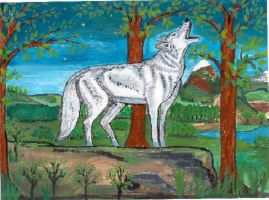 Cris du loup by angeloup