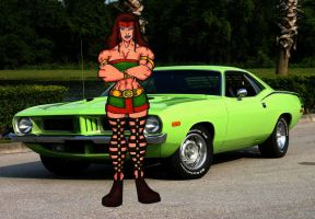 Hercula's Muscle car by RWhitney75