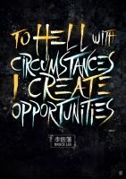 I Create opportunities by januz