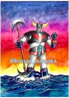 Grendizer Artwork by HasssanArt