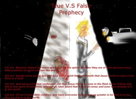 True Vs False Prophecy (remake) by whitefirepanther