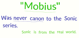 Mobius is not canon by PlatinumDrawings