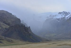 Misty Mountain Pass Stock by little-spacey