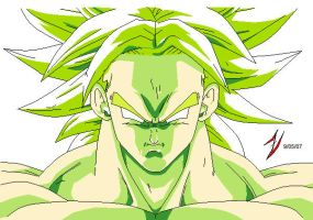 Broli Colored - DBZ by DrkXShadowZ