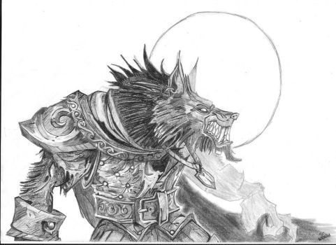 Worgen WoW by SniepA