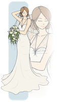 .+. Mira's Wedding Dress .+. by LittleMissWiseass