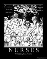 Nurses by lupa019