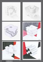 Cube sketches by MBKKR