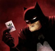 Batman Revisited Again by Weidel