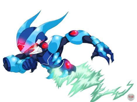 Mega Man villan fan art fin by Shoga00