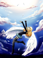 Lucy Angel by AderiAsha