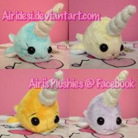 More Narwhals ( PREMADES FOR SALE) by Airidesi