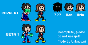 Gimble Gramps Sprites by Unknowni123