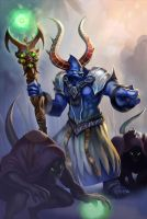 Heroes of Newerth - Antlore Healer by Izaskun