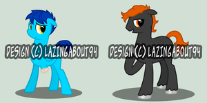 MLP Adoptables Batch #02 by LazingAbout94