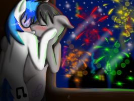 Love under the fire works by KonfettiMayhem