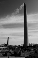 Smokestack of Copper Cliff by BeauNArrow