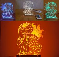 MLP Acrylight - Princess Celestia by VasGoTec