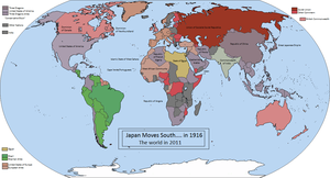 Japan moves south in 1914 by OttoVonSuds