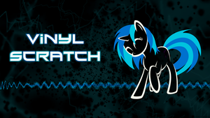 Vinyl Scratch Wallpaper by FaithlessHyren