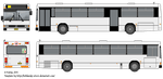 Bus Template by Belldandy1-Stock