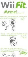 Wii Fit Meme by GirlKirby