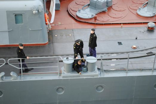 Russian Sailors Cleaning by ThunderBreak