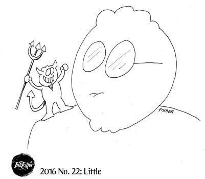 Inktober 2016 #22: Little by AberzombieLiche