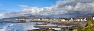 Borth Panorama1 by CharmingPhotography