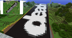 Minecraft deadmau5 logo by foexzya