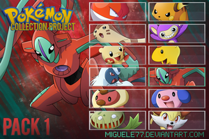 Pack 01 - Pokemon Collection Project by Miguele77