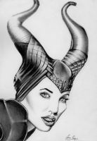 Maleficent by chairboygazza