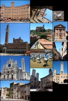 Siena and San Gimignano by KupoGames