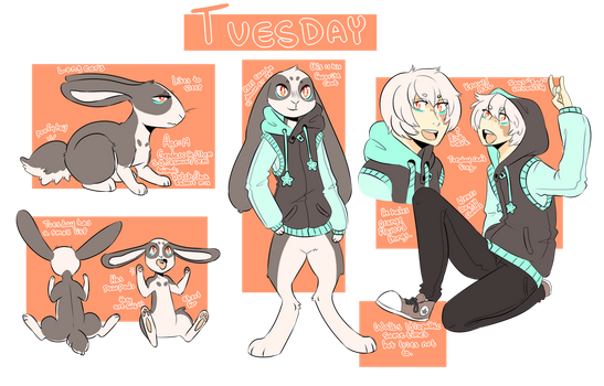 Tuesday's Ref by Tuxiie