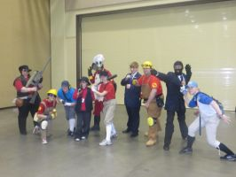 Zenkaikon 2013 TF2 by Shadowamarilis