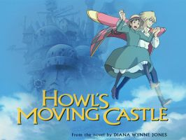 Howl's moving castle by Vilka6