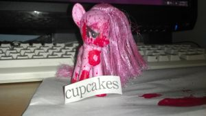 Custom G4 Pinkamena Diane Pie by buzzair
