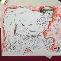 Aw yeah, Hulk by JasonLatour