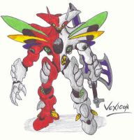 OLD-ART: Vexicon by Kainsword-Kaijin