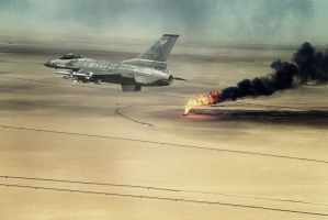 Kuwait Fires by itifonhom