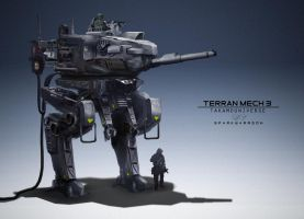 Terran mechs 003 by WarrGon
