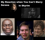 When You Can't Marry Serana from Skyrim by NyanCatx