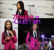 COLLAGE DE ZENDYA by AdriEdicion