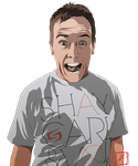 COMMISSION - Shay Carl VID INCLUDED by InvisibleRainArt