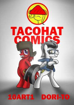 Tacohat Comics Poster by Dori-to