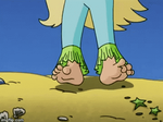Seaberry Delight's toes (Animation) by CartoonGirlsFeet2