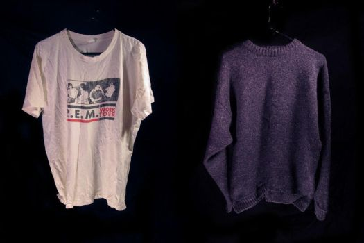 untitled, concert tshirt + sweater by mgilpin