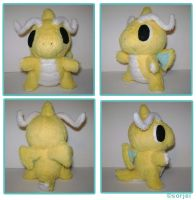 Dragonite Plush by sorjei
