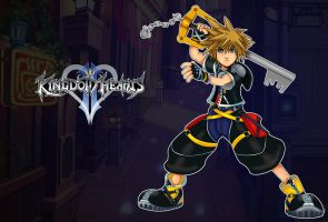 Kingdom hearts wallpaper by Eduardo-13