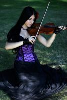 Stock - Playing The Violin by Mahafsoun